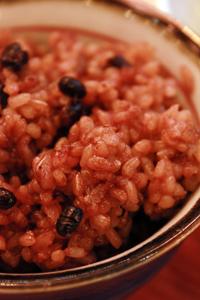 水林亭独自の玄米食